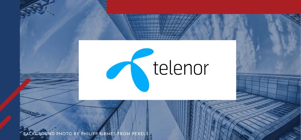 Telenor Blog Header