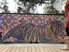 Tiger Street Labs Changi Jewel Mural